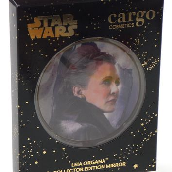 Star Wars Cargo Cosmetics Collector Limited Edition Compact Mirror Leia Organa