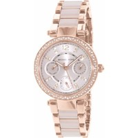 Women's Michael Kors Mini Parker Multi-Function Watch MK6110 - Walmart.com
