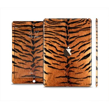 The Real Tiger Print Texture Skin Set for the Apple iPad Air 2