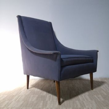 MCM Danish Selig Baughman Style Lounge Chair