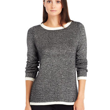 Kenneth Cole New York Split Back Sweater