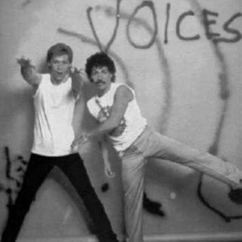 "Hall And Oates Poster Black and White Poster 24""x36"""