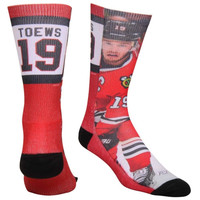 Jonathan Toews Chicago Blackhawks Player Promo Tri-Blend Tube Socks