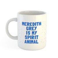 Grey's Anatomy Meredith Grey Spirit Mug