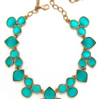 Oscar De La Renta - Carved Resin Necklace