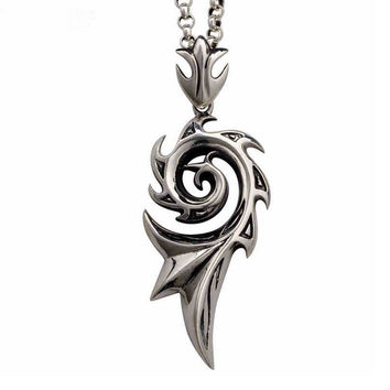 Shiny Jewelry Stylish Gift New Arrival Twisted Men Korean Titanium Accessory Strong Character Vintage Necklace [6526583875]