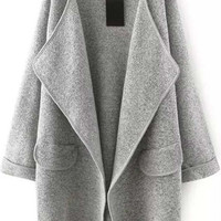 Cupshe Go On Today Drape Cardigan