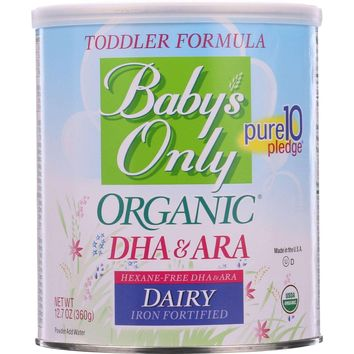 Nature's One Baby's Only Organic DHA & ARA Toddler Formula - 12.7 oz