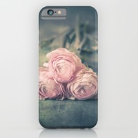 Lovely Ranunculus iPhone & iPod Case by Maria Heyens