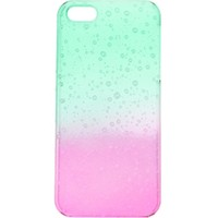 With Love From CA Water Ombre iPhone 5/5S Case - Womens Scarves - Green - NOSZ