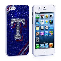 Texas Ranger Glitter iPhone 4, 4S, 5, 5C, 5S Samsung Galaxy S2, S3, S4 Case