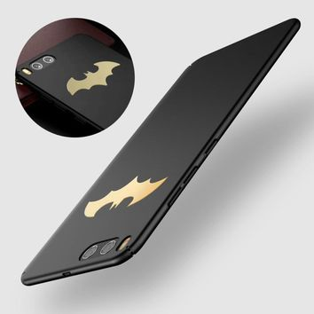 Batman Dark Knight gift Christmas High Quality Batman PC Hard Case For Xiaomi 6 Coque Luxury Protective Metal Bat Slim Back Cover For Xiaomi mi6 Phone Case New AT_71_6