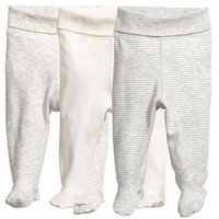 H&M 3-pack Jersey Pants $17.99