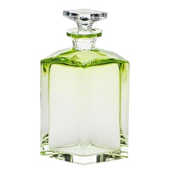 Underlay Lime Green Whiskey Decanter