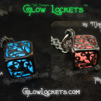 Glowing Cube Glow Locket