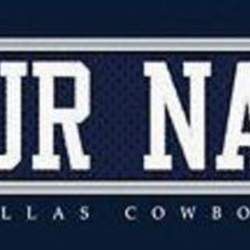 DCCK8X2 Football-NFL Jersey Stitch Print Dallas Cowboys Personalized for YOU!