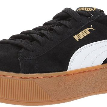 puma women s vikky platform fashion sneaker  number 3