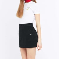 Urban Outfitters Summer Black Corduroy A-line Skirt - Urban Outfitters