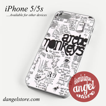 arctic monkeys song Phone case for iPhone 4/4s/5/5c/5s/6/6 plus