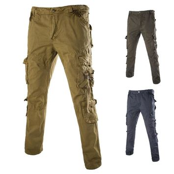 Casual High Quality Cotton Pants [6541433347]