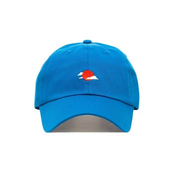 Comfortable Rising Sun Dad Hat - Baseball Cap / Baseball Hat