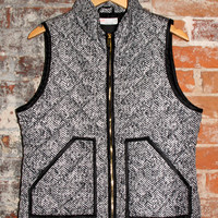 The Essential Herringbone Vest
