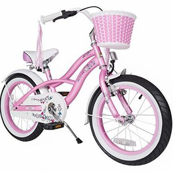 Bikestar 16 Inch (40.6cm) Kids Children Bike Bicycle - Cruiser - Pink