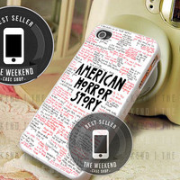 American Horror Story Quotes - iPhone 4/4s/5/5S/5C Case - Samsung Galaxy S2/S3/S4 Case - Black or White