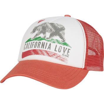Billabong - Pitstop Trucker Hat | Spiced Coral