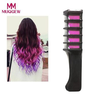 Hot New Temporary Permanent Hair Color Chalk Powder With Comb Temporary Hair Mascara Multicolor Dye