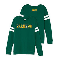 Green Bay Packers Bling Crewneck Tee