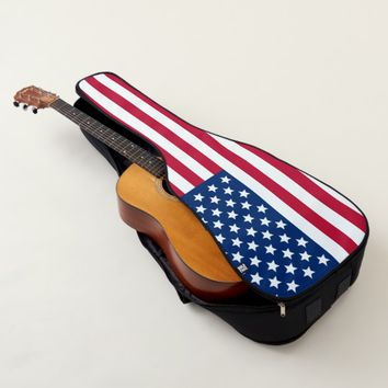 US Flag Guitar Case