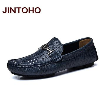 men leather shoes genuine leather loafers moccasins casual male shoes men's flats