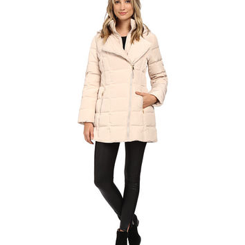 Jessica Simpson Asymmetrical Zip Down with Bib and Hood