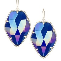 Corley Drop Earrings in Iridescent Cobalt - Kendra Scott Jewelry