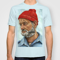 Bill Murray / Steve Zissou T-shirt by Heather Buchanan | Society6