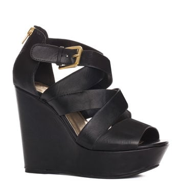 Alli Wedges - Black