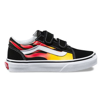 Kids Flame Old Skool V | Shop Boys Shoes At Vans