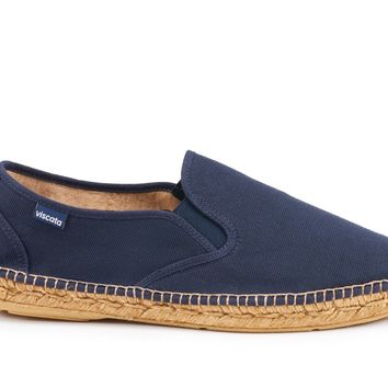 Medes Canvas Slip-on Espadrille - Navy