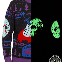 Friday the 13th Glow Variant Sweater