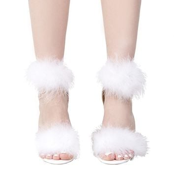 Cape Robbin Feather Pom Sandal - Just In - What's New