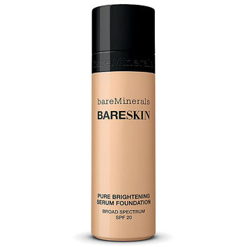 Bare Minerals BareSkin Pure Serum Foundation Broad Spectrum SPF 20 Bare Shell 02 1.0 oz