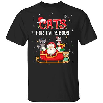 Cats For Everybody Christmas Cute Cat Lover