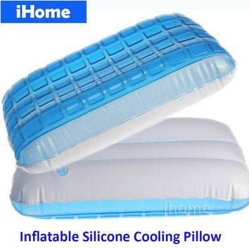 Good Comfort Gel cool Pillow Neck Massager Sleep Helping Cervical Protection Healthy Headrest Cushion Pad Summer sleep pillow