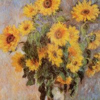 Sunflowers, c.1881 Photo by Claude Monet at AllPosters.com