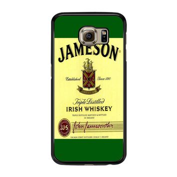 Jameson Wine Irish Whiskey Samsung Galaxy S6 Edge Case