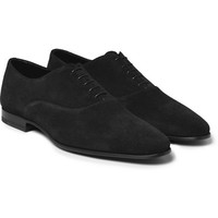 Saint Laurent - Suede Oxford Shoes | MR PORTER