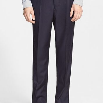 Men's AMI Alexandre Mattiussi Straight Leg Wool Pants,