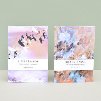 'Flight' Set of 2 A5 Notebooks With Lined Pages by Nikki Strange