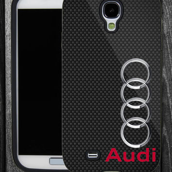 Red Audi logo-IPhone 5 case,IPhone 4,4S,Samsung Galaxy S2 i9100,Samsung S3 i9300,Samsung S4 i9500-B-2062013-12